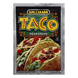 Williams Taco Seasoning, 1.25 OZ (Pack of 24)