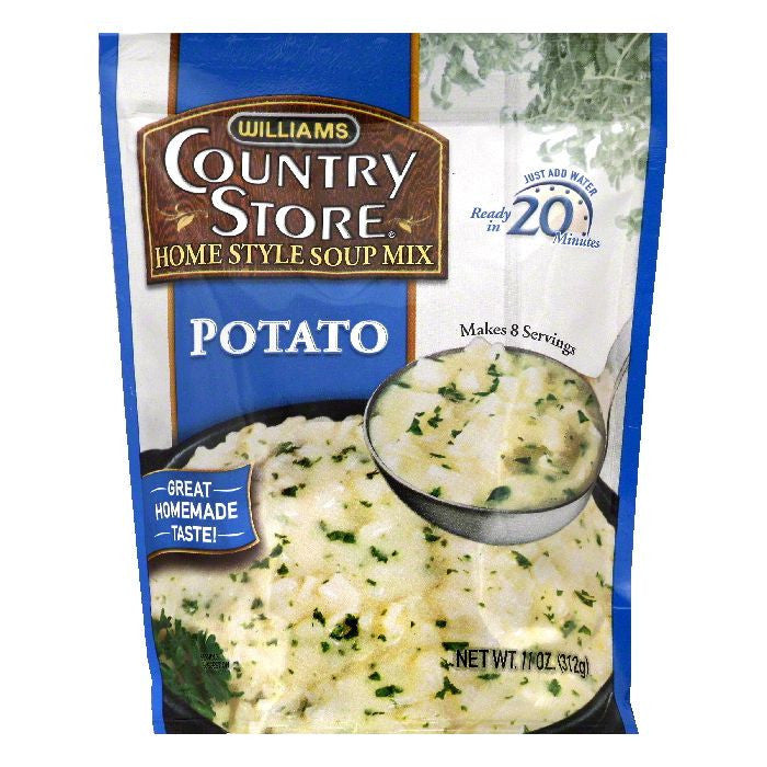 Williams Potato Home Style Soup Mix, 11 OZ (Pack of 6)