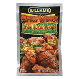 Williams Spicy Wings Caribbean Jerk Seasoning, 2.5 OZ (Pack of 12)