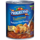 Progresso Traditional Manhattan Clam Chowder Soup 19 Oz  (Pack of 12)