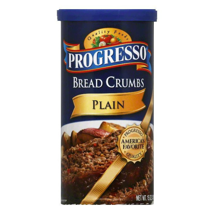 Progresso Plain Bread Crumbs, 15 OZ (Pack of 6)