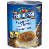 Progresso Vegetable Classics French Onion Soup 18.5 Oz  (Pack of 12)