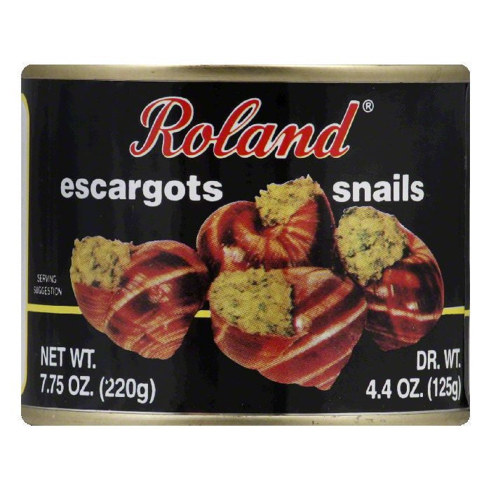 Roland Excargots, 7.75 OZ (Pack of 12)