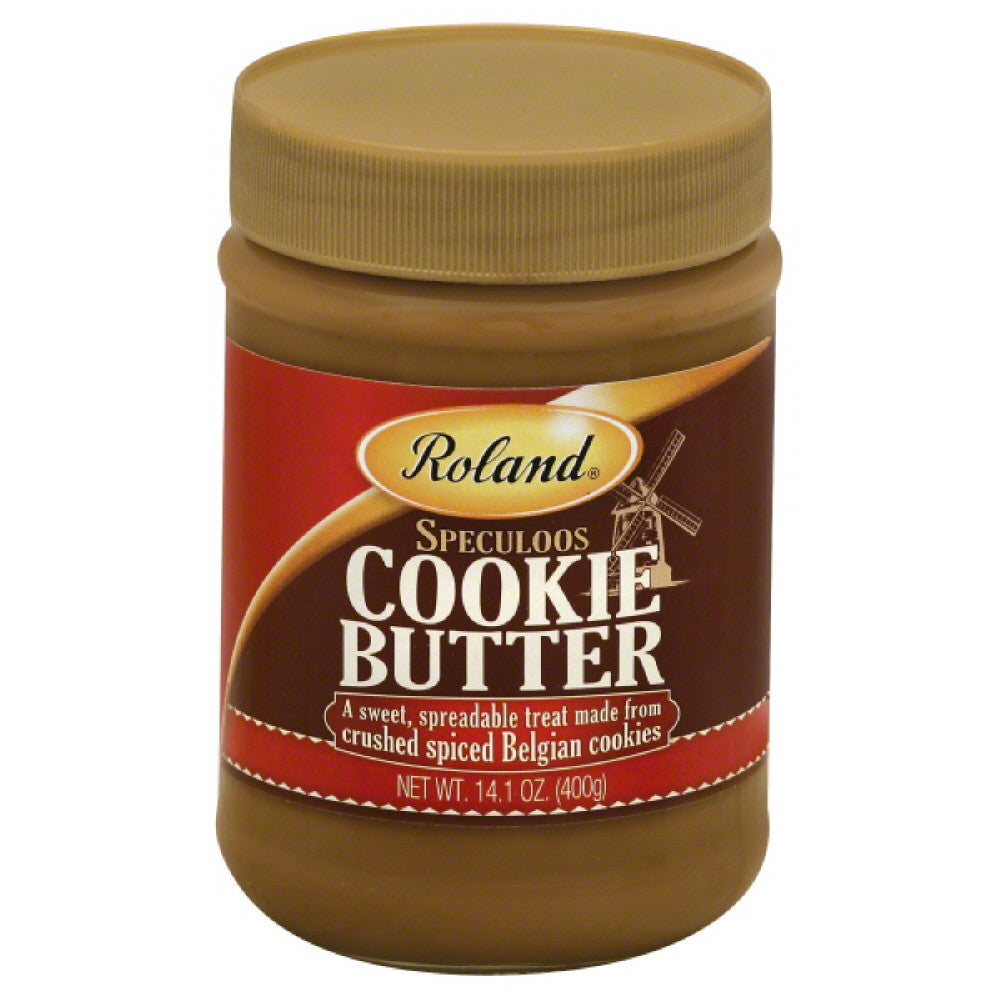 Roland Speculoos Cookie Butter, 400 Gm (Pack of 12)