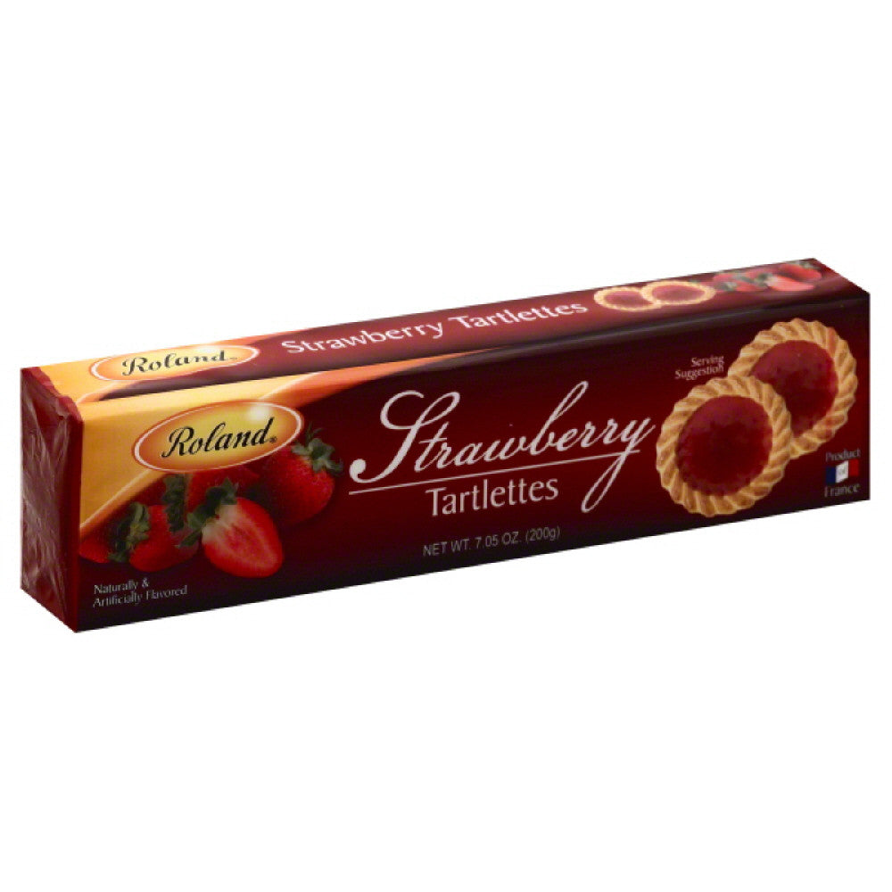 Roland Strawberry Tartlettes, 7.05 Oz (Pack of 20)