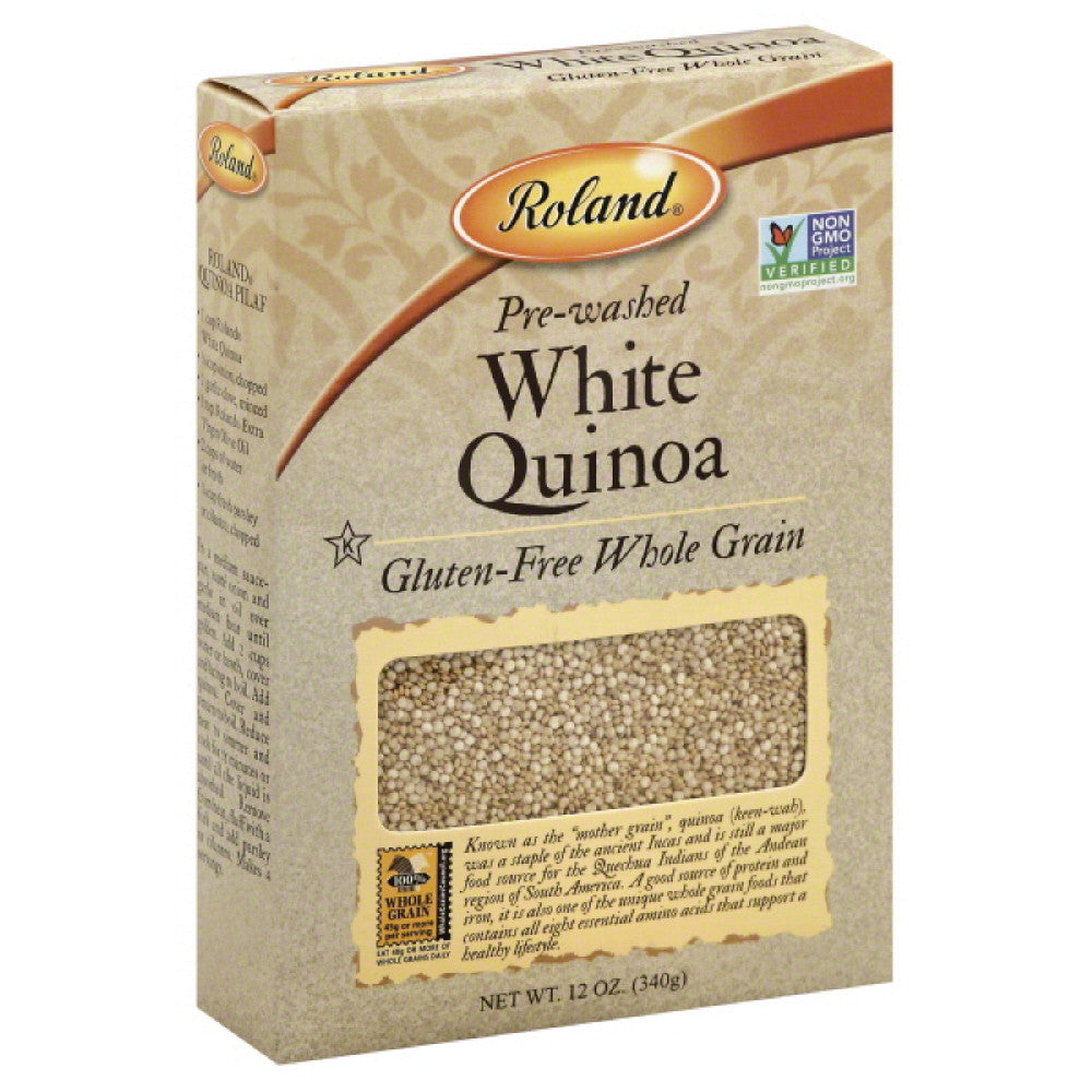 Roland White Quinoa, 12 Oz (Pack of 12)