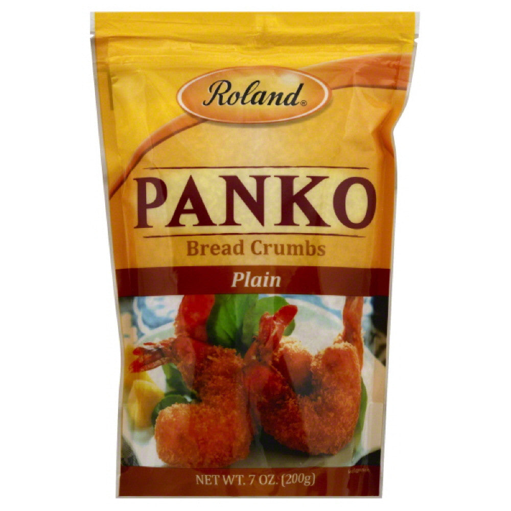 Roland Plain Panko Bread Crumbs, 7 Oz (Pack of 6)