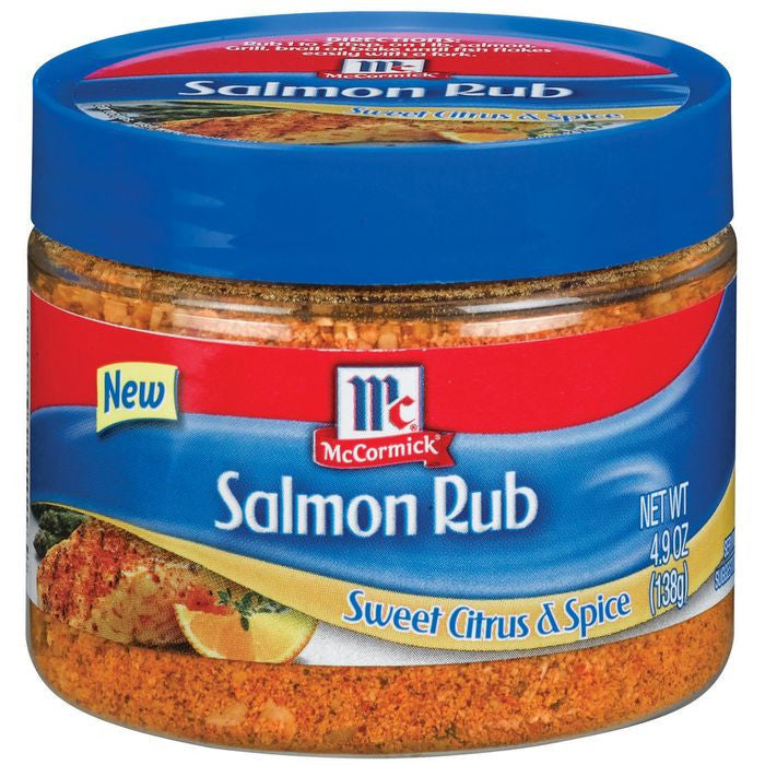 Golden Dipt Sweet Citrus & Spice Salmon Rub 4.9 Oz Plastic  (Pack of 12)