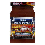 Mrs. Renfro's Salsa Ghost Pepper, 16 OZ (Pack of 6)