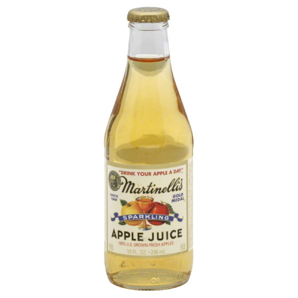 Martinellis Apple Sparkling Juice, 10 Fo (Pack of 12)