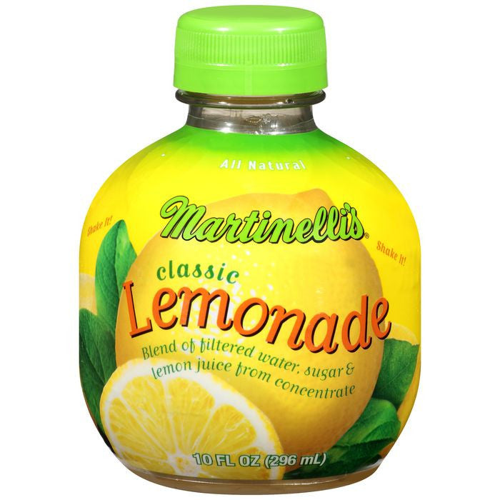 Martinelli's Classic Lemonade 10 fl. Oz Plastic  (Pack of 9)