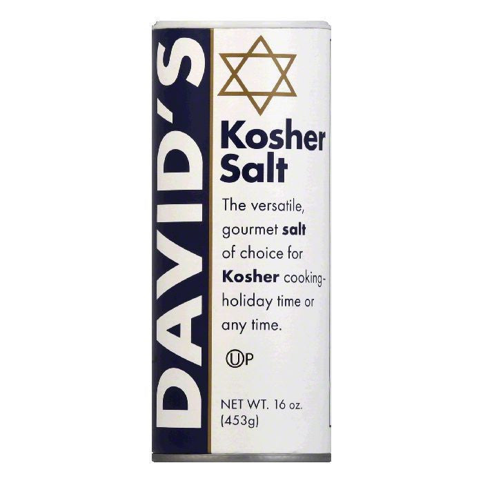 David's Kosher Salt Canister, 16 OZ (Pack of 12)