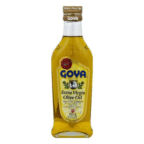 Goya Extra Virgin Olive Oil, 8.5 OZ (Pack of 25)