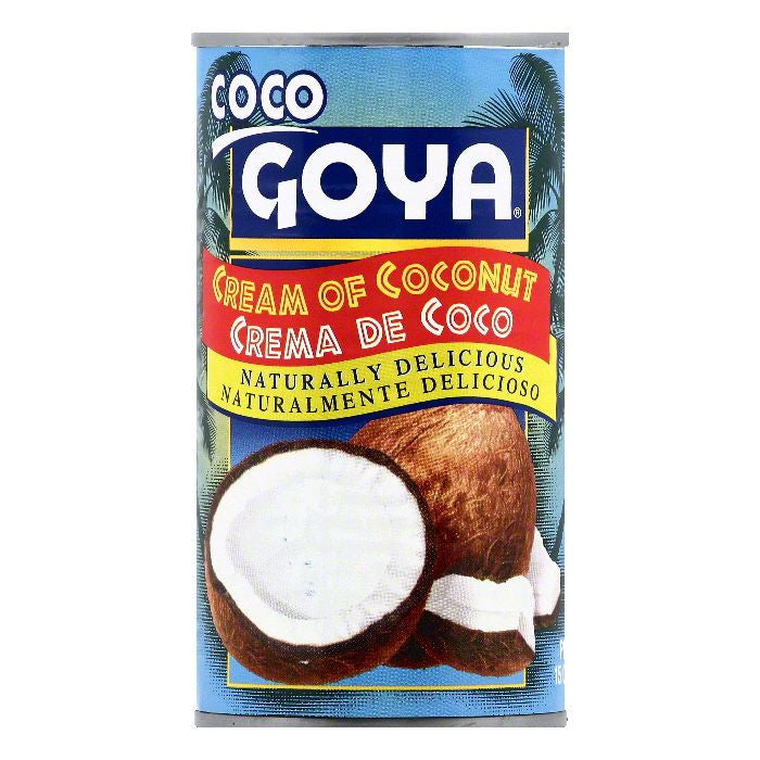 Goya Cream of Coconut, 15 OZ (Pack of 24)