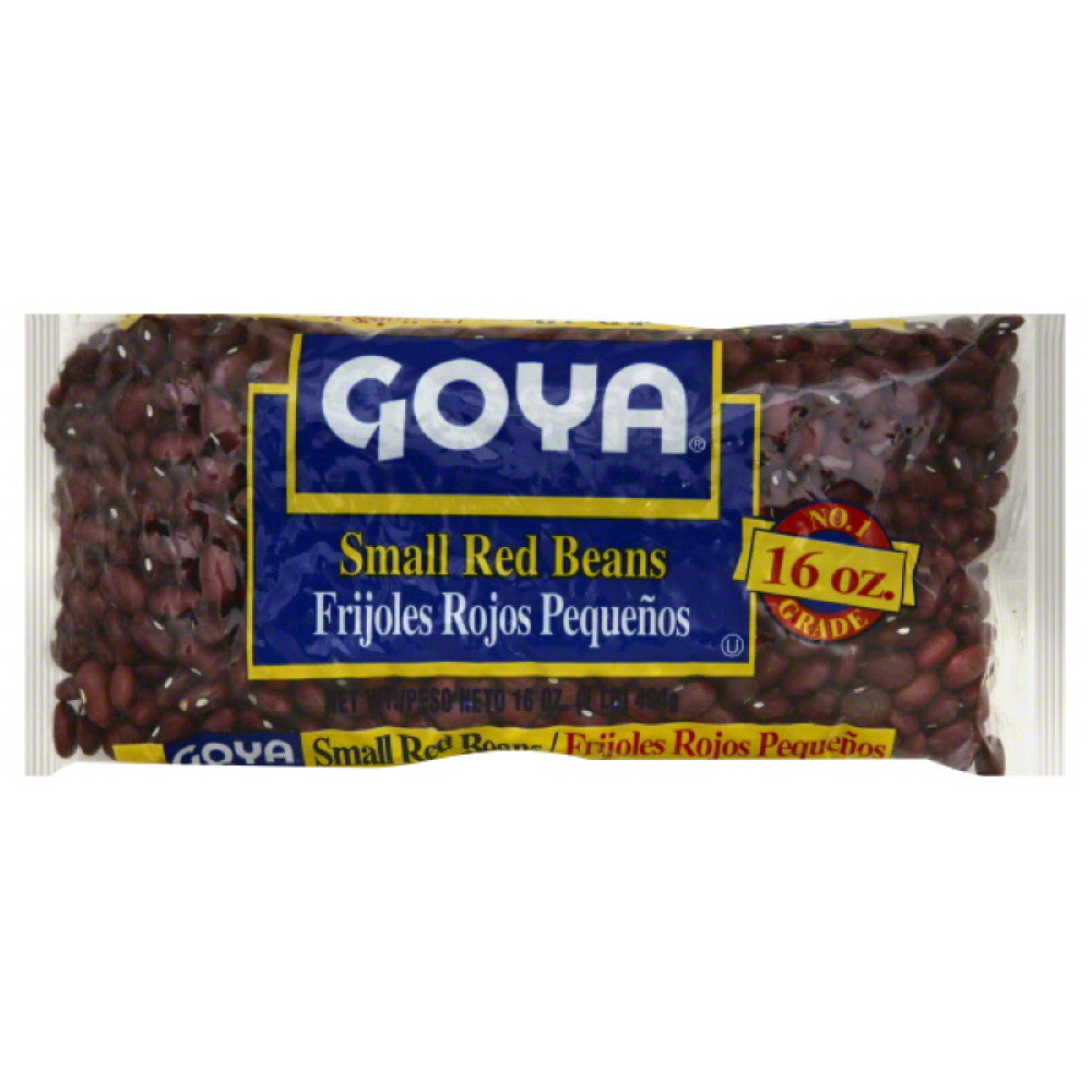 Goya Small Red Beans, 16 Oz (Pack of 24)