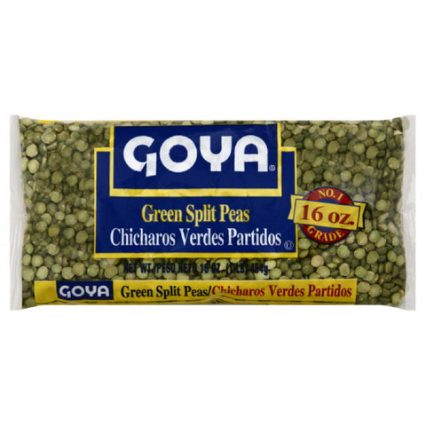 Goya Green Split Peas, 16 Oz (Pack of 24)