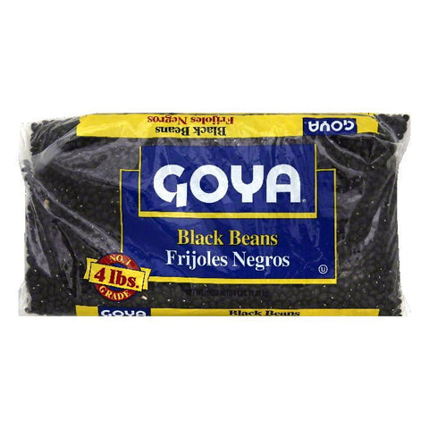 Goya Black Beans, 4 lb (Pack of 6)