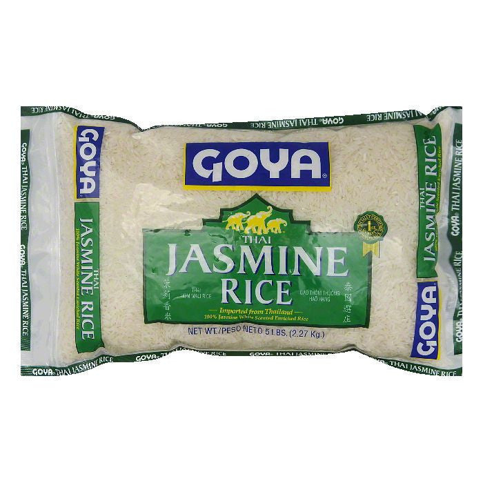Goya Thai Jasmine Rice, 5 LB (Pack of 8)