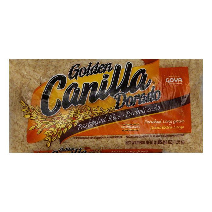 Goya Golden Canilla Parboiled, 3 LB (Pack of 20)
