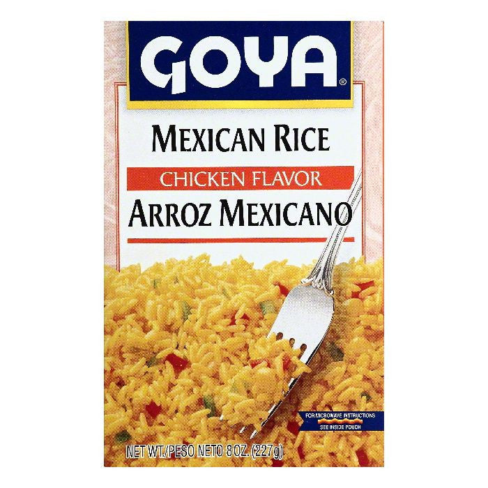 Goya Chicken Flavor Mexican Rice, 8 OZ (Pack of 24)