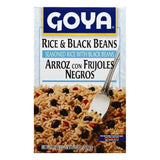 Goya Rice & Black Beans, 8 OZ (Pack of 24)