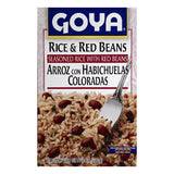 Goya Rice & Red Beans, 8 OZ (Pack of 24)