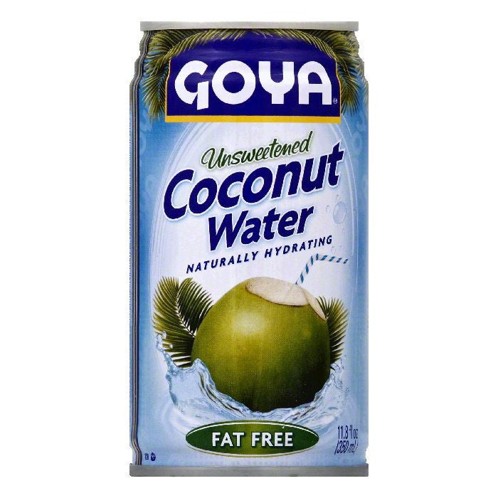 Goya Unsweetened Coconut Water, 11.8 OZ (Pack of 24)