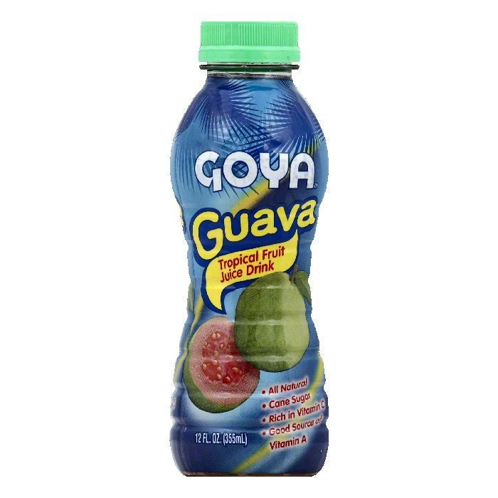 Goya Guava Juice Drink, 12 OZ (Pack of 24)