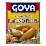 Goya Green Pickled Jalapeno Peppers, 26 OZ (Pack of 12)