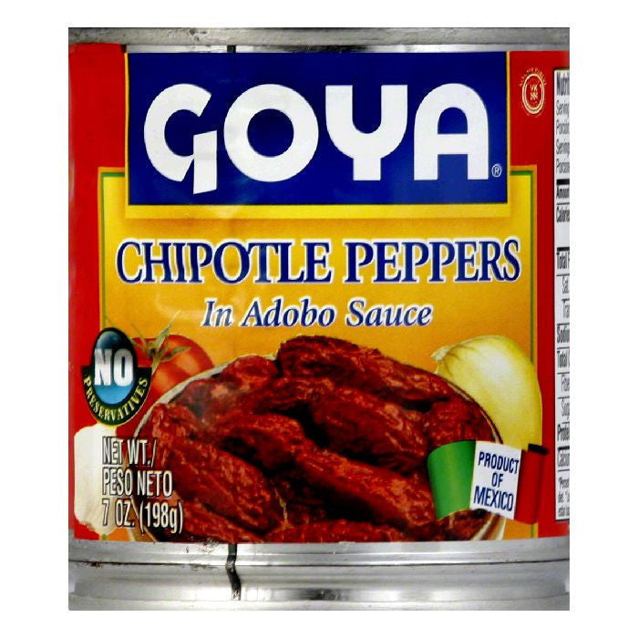 Goya Chipotle Peppers, 7 OZ (Pack of 12)