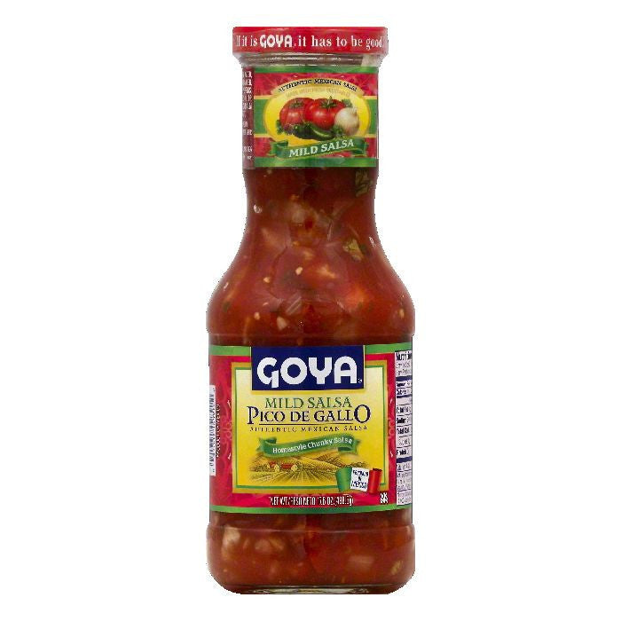 Goya Mild Pico de Gallo Salsa, 17.6 OZ (Pack of 12)