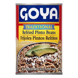 Goya Traditional Refried Pinto Beans, 16 OZ (Pack of 12)