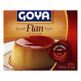 Goya Spanish Flan Style Custard, 5.5 OZ (Pack of 36)