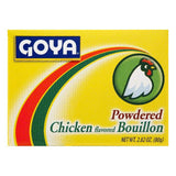 Goya Chicken Flavored Powdered Bouillon, 2.82 OZ (Pack of 24)