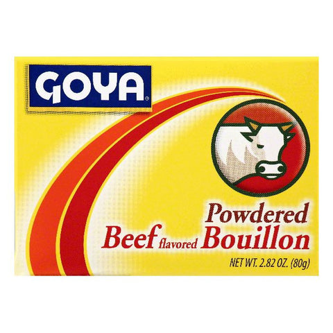Goya Beef Flavored Powdered Bouillon, 2.82 OZ (Pack of 24)