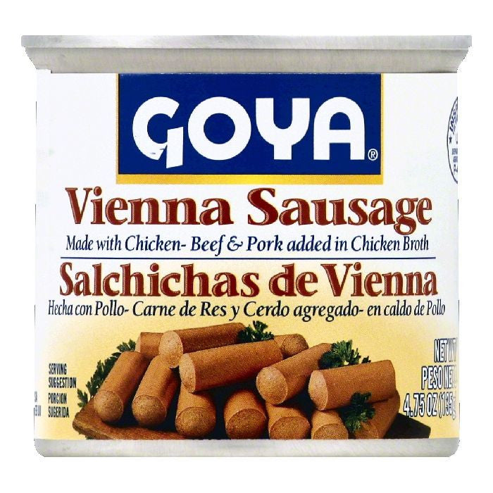 Goya Vienna Sausage, 4.75 OZ (Pack of 6)
