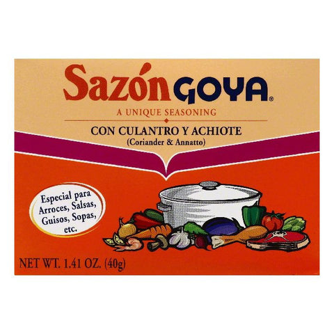 Goya Coriander & Annatto Seasoning, 1.41 OZ (Pack of 36)