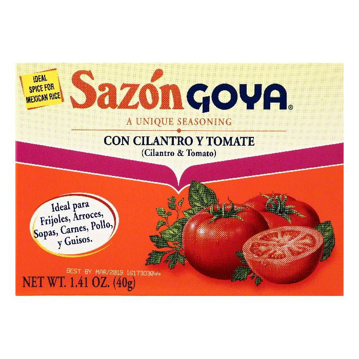 Goya Cilantro & Tomato Seasoning, 1.41 OZ (Pack of 36)
