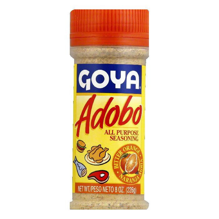 Goya Adobo with Naranja Agria, 8 OZ (Pack of 24)