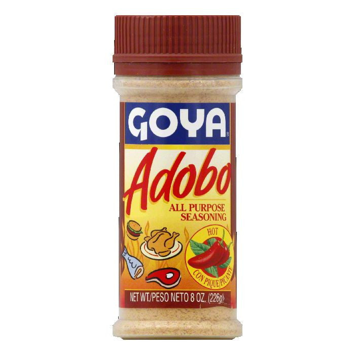 Goya Hot Adobo All Purpose Seasoning, 8 Oz (Pack of 24)