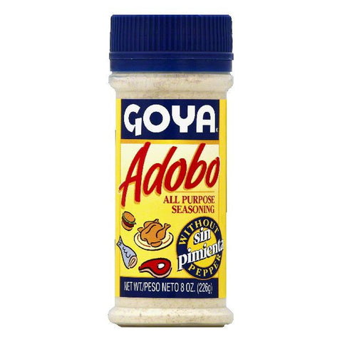 Goya All Purpose Seasoning without Pepper, 8 OZ (Pack of 24)