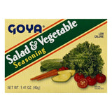 Goya Salad & Vegetable Seasoning, 1.41 OZ (Pack of 24)
