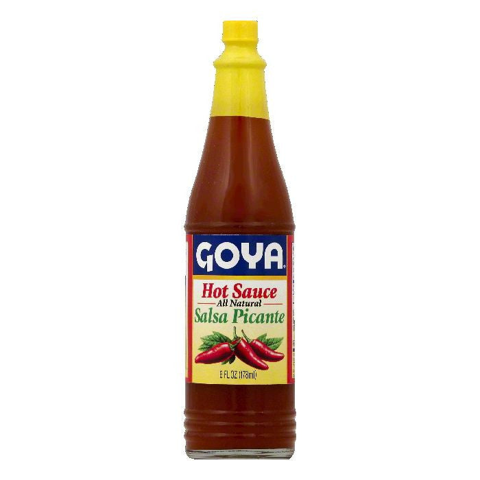 Goya Salsa Picante Hot Sauce, 6 OZ (Pack of 24)
