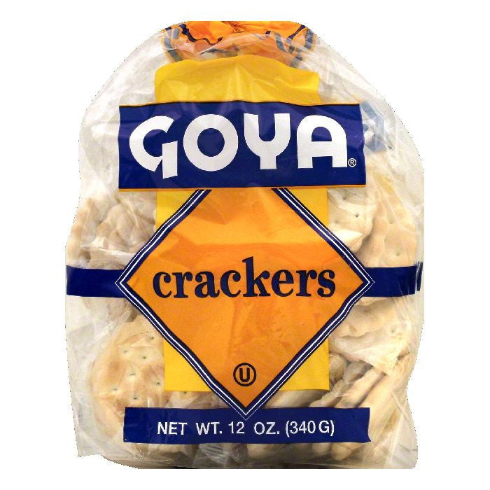 Goya Crackers Tropical, 12 OZ (Pack of 12)
