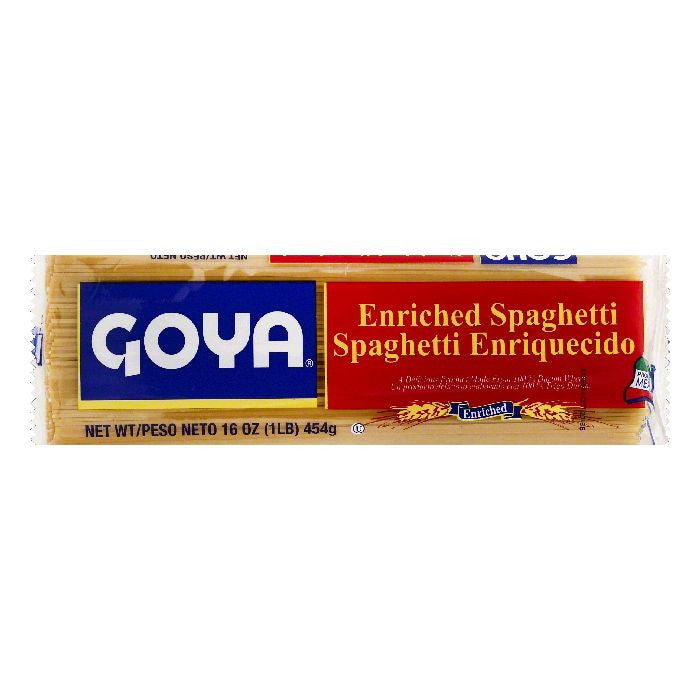 Goya Enriched Spaghetti, 16 OZ (Pack of 20)