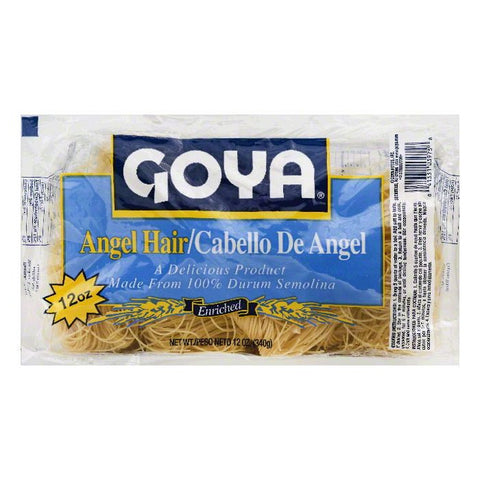 Goya Enriched Angel Hair, 12 OZ (Pack of 12)