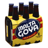 Malta Goya Malt Beverage, 72 Oz (Pack of 4)