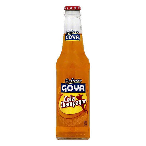 Goya Cola Champagne, 12 OZ (Pack of 24)