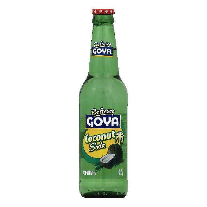 Goya Coconut Soda, 12 OZ (Pack of 24)