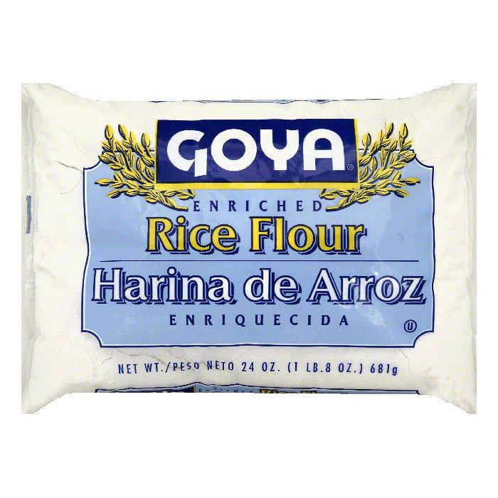 Goya Enriched Rice Flour, 24 OZ (Pack of 12)